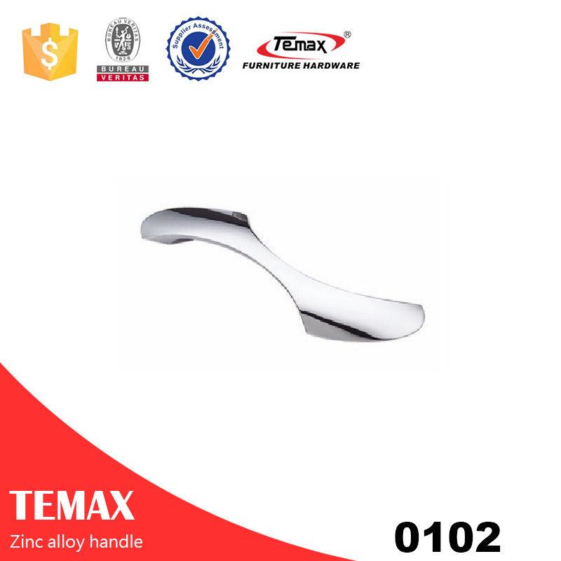 0102 Safety zinc alloy drawer handle with nice quality