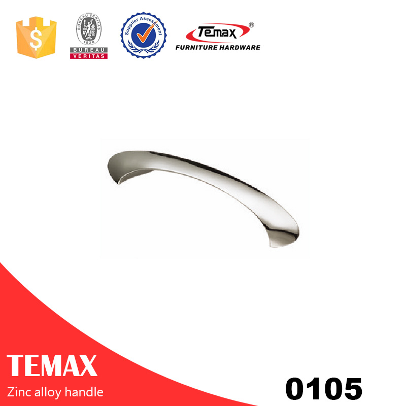 0105 Facotry supplier zinc alloy cabinet handles with nice quality