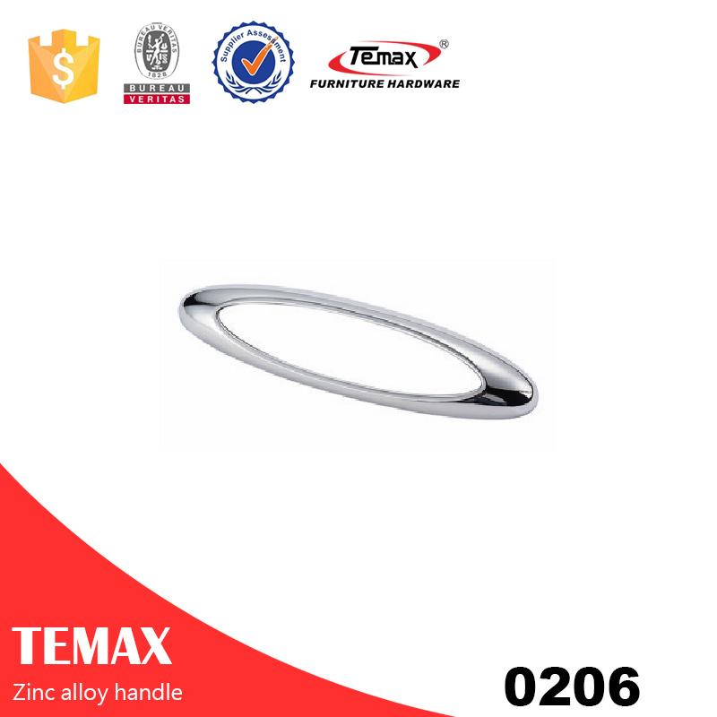 0206 Popular zinc alloy cabinet knobs