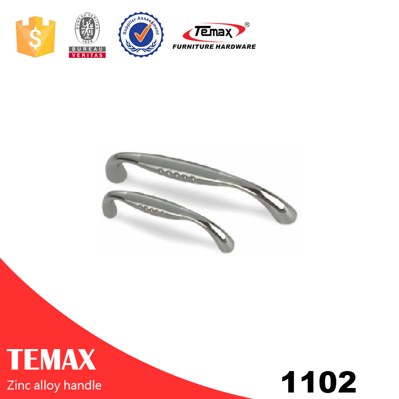 1102 Good price zinc alloy furniture knobs from Shanghai temax