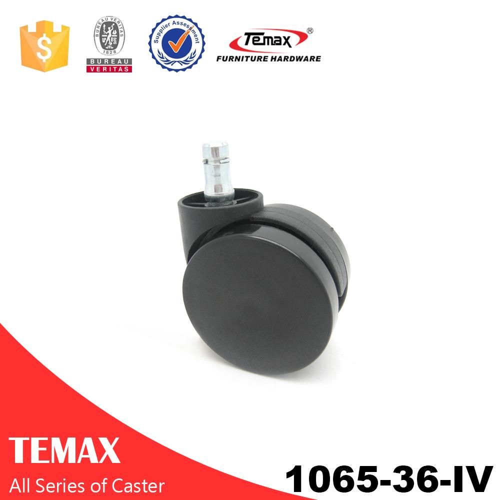 1065-36-عجلات IV البلاستيك التوأم العجلة