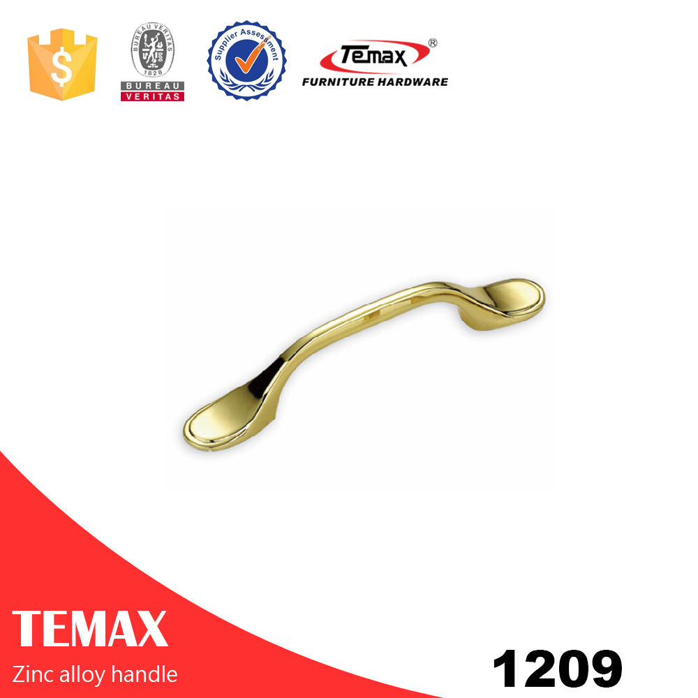 1209 Temax high quality zinc handle for drawer