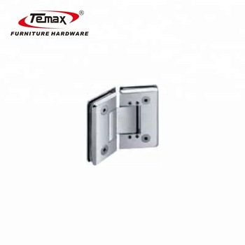 135 Degrees two side Adjustable self closing glass door hinge