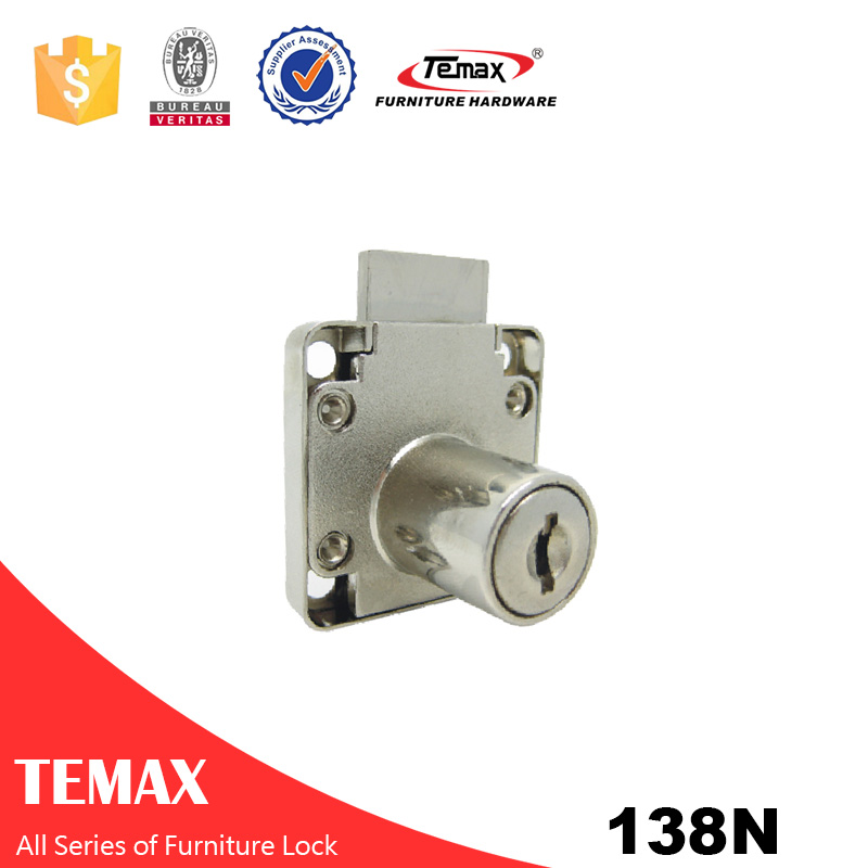 138N Zinc alloy Cabinet Locks For Furniture