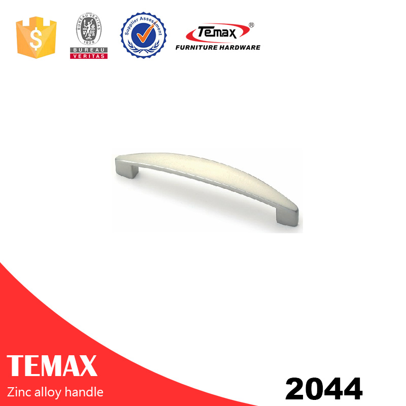 2044 High quality zamak furniture handle