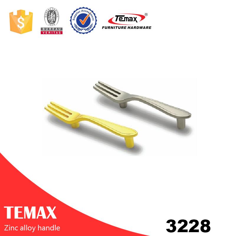 3228 New design modern drawer zinc handles