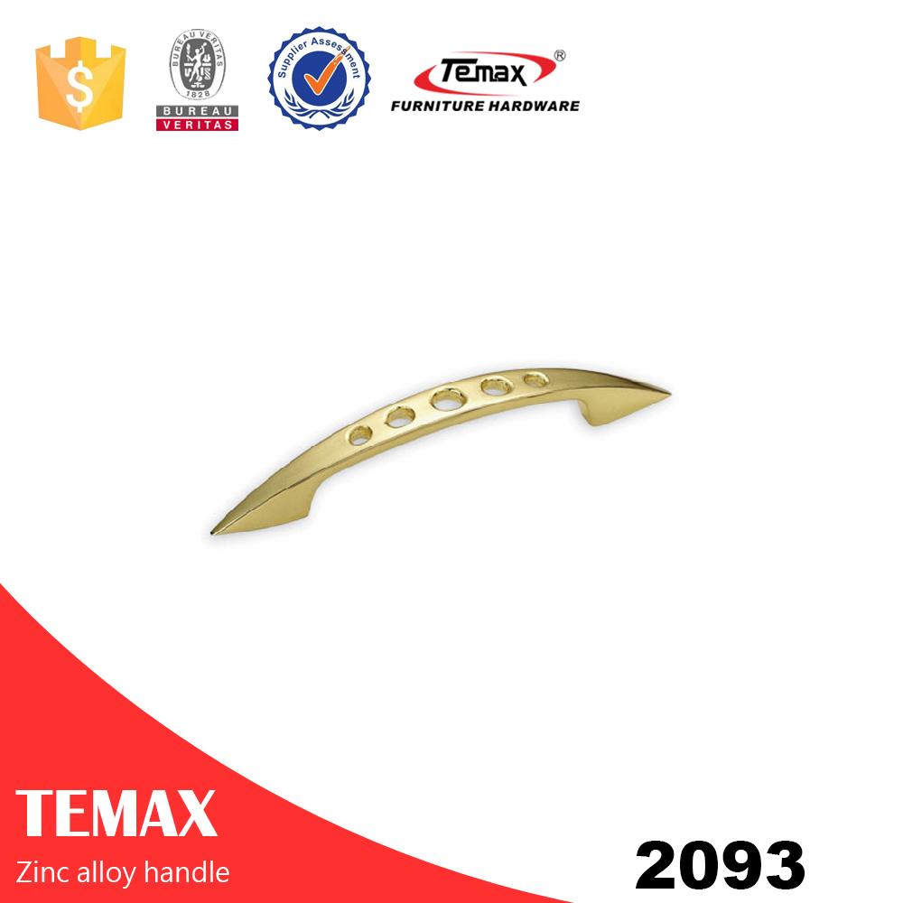2093 modern zinc alloy lever cabinet door handles