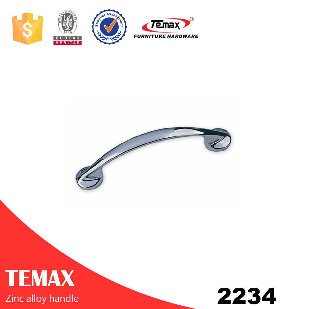 2234 Temax high quality zinc alloy cabinet pull handles