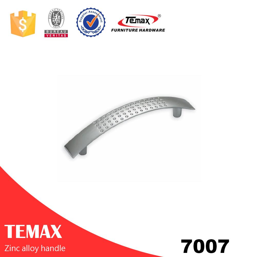 7007 Basit designgood kaliteli çinko alaşımı çekme düğmesi