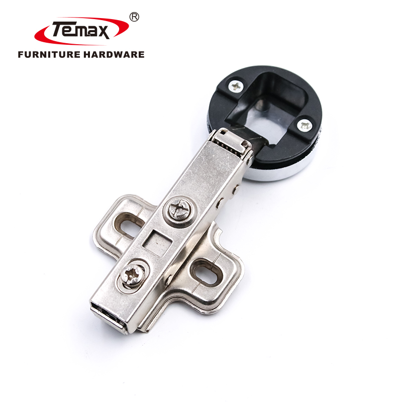 35mm Diameter Hydraulic Glass Hinge Clip On Soft Close Hinge HB910