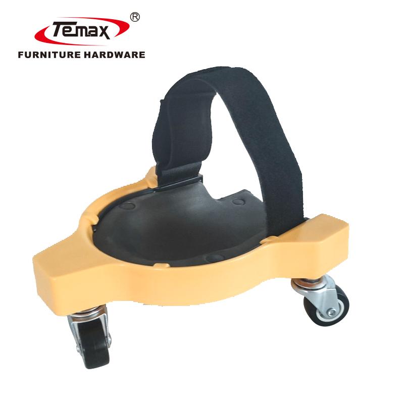 360 Degree Roller Caster Durable Gel Rolling Knee Pad KP01