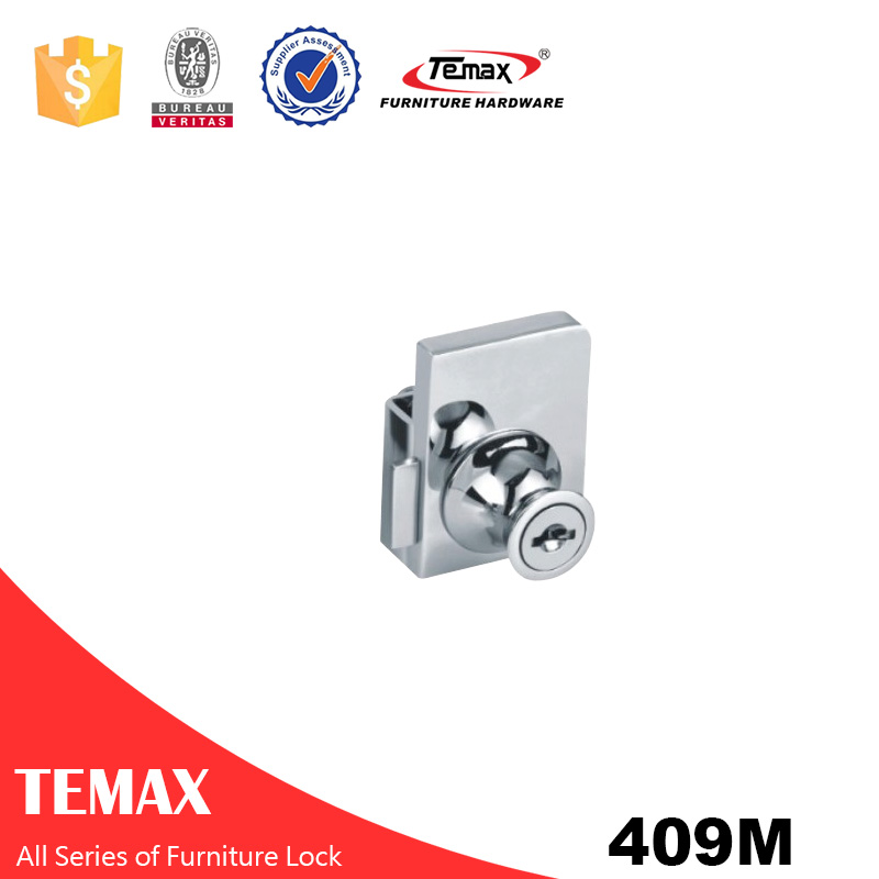409M Cabinet Glass Security Display Lock Body