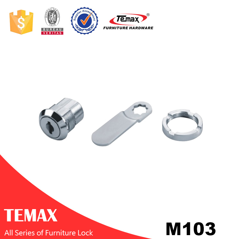 M103 Zinc alloy Cabinet Furniture Drawer Lock