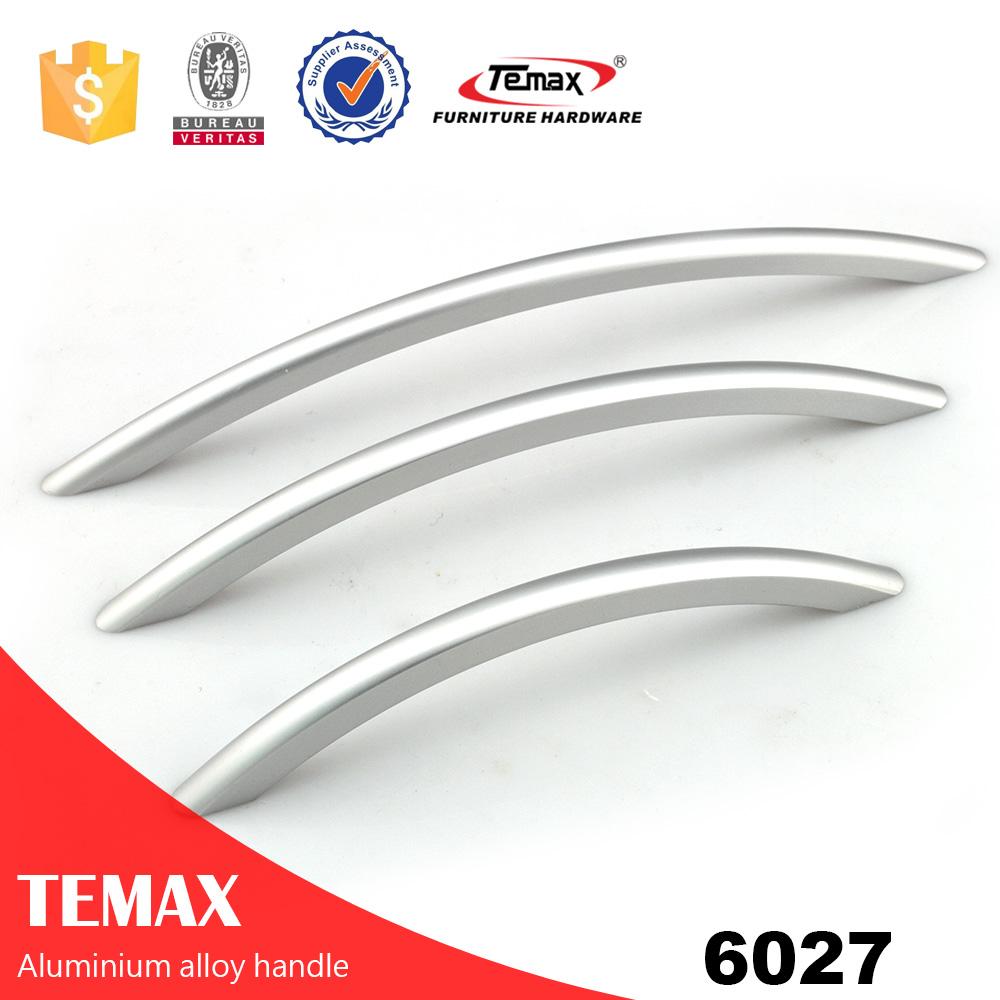 6027 Perfil de alumínio da moda manipula encaixes