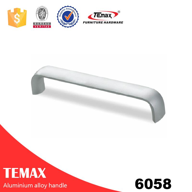 6058 aluminium 4mm cupboard door handle