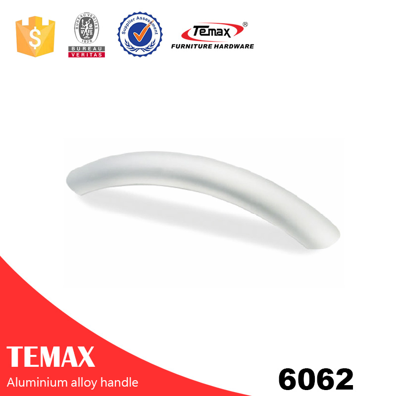 6062 aluminium 4mm tempered glass cabinet handle