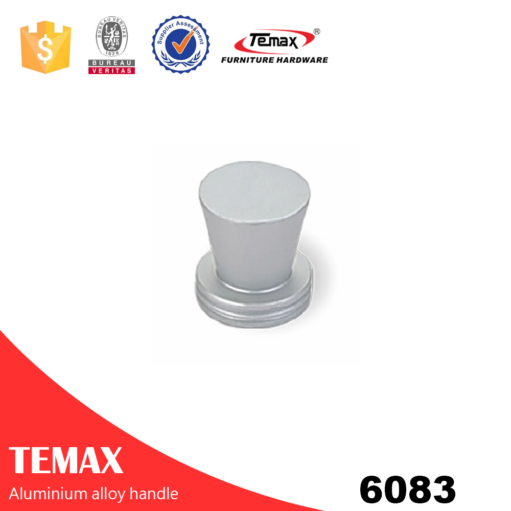 6083 Aluminium billige Möbel Zubehör Griffe Knöpfe