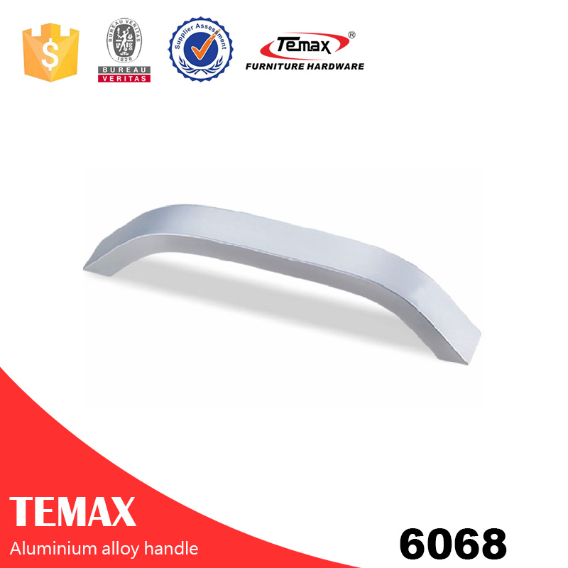 6068 aluminium handle for bookcase door