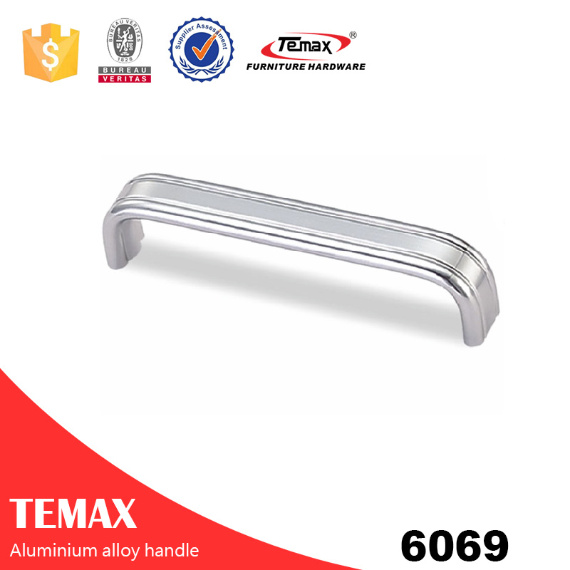 6069 polish kitchen aluminium profile handle