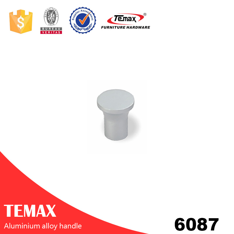 6087 aluminium single knob cabinet handle