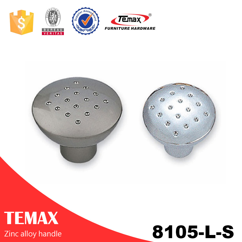 8105-L-S Zinc alloy shell knobs and handles
