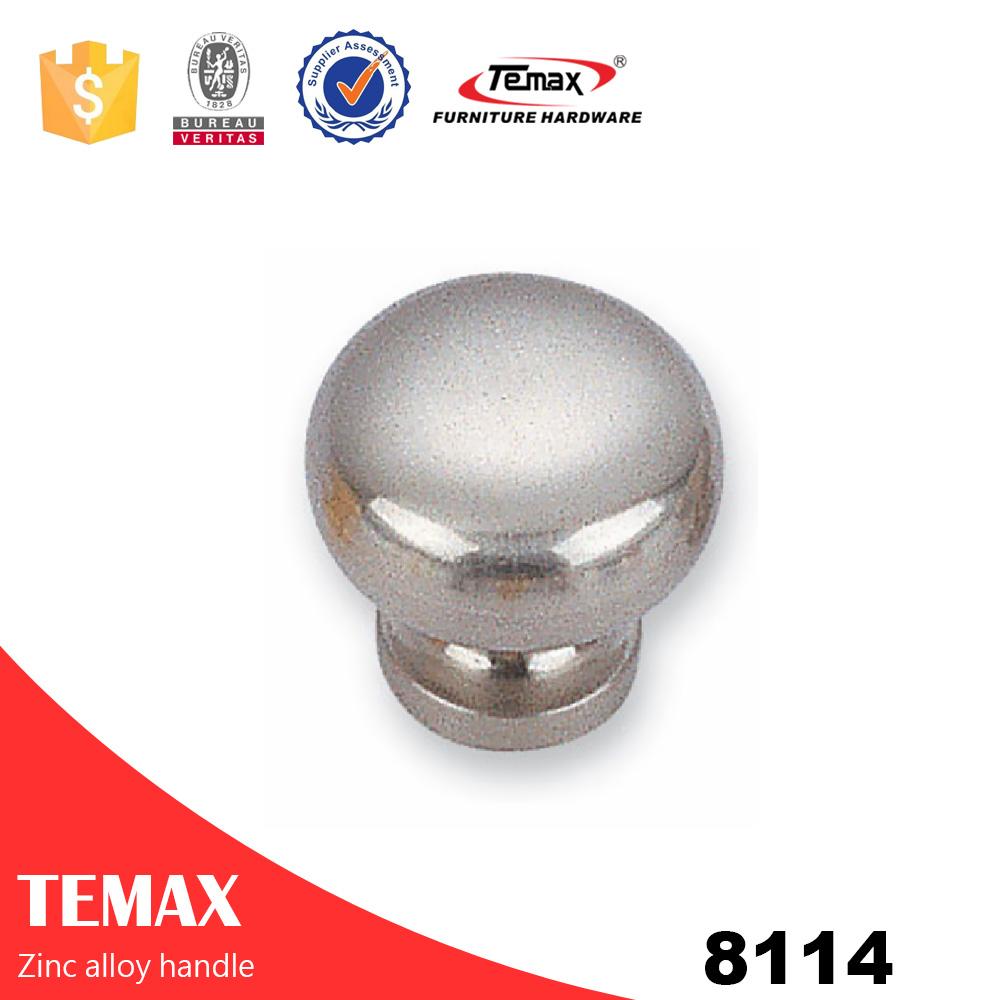 8114 Küchenschrank Türgriff Glas runden Türknopf