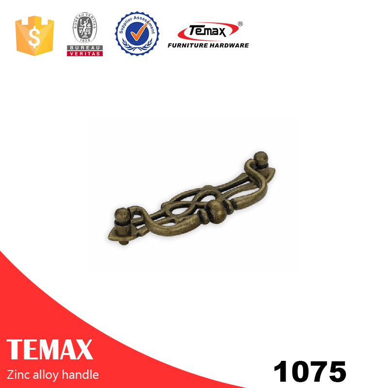 1075 popular zinc kitchen cabinet handles from Temax