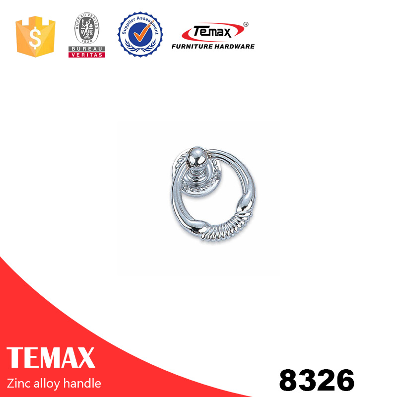 8326 bottom price zinc furniture pull handle from Temax