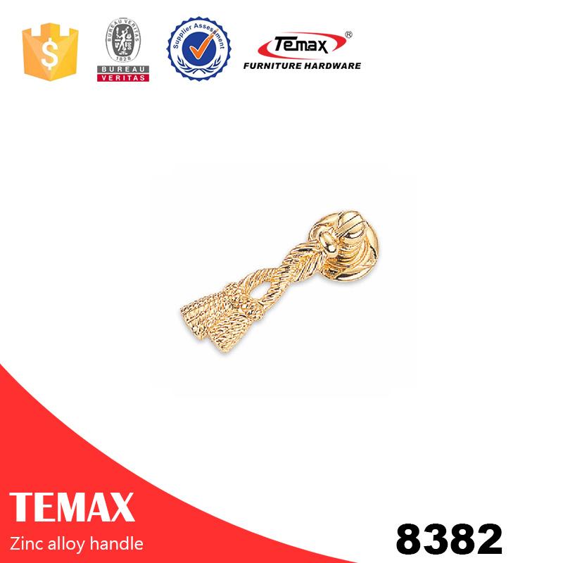 8382 beliebte Zink-Legierung Knöpfe für Schrank von Temax
