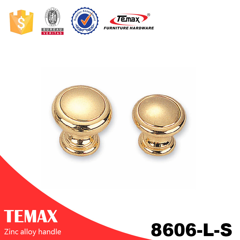 8606-L-S fashionable zinc alloy knobs for cabinet from Temax
