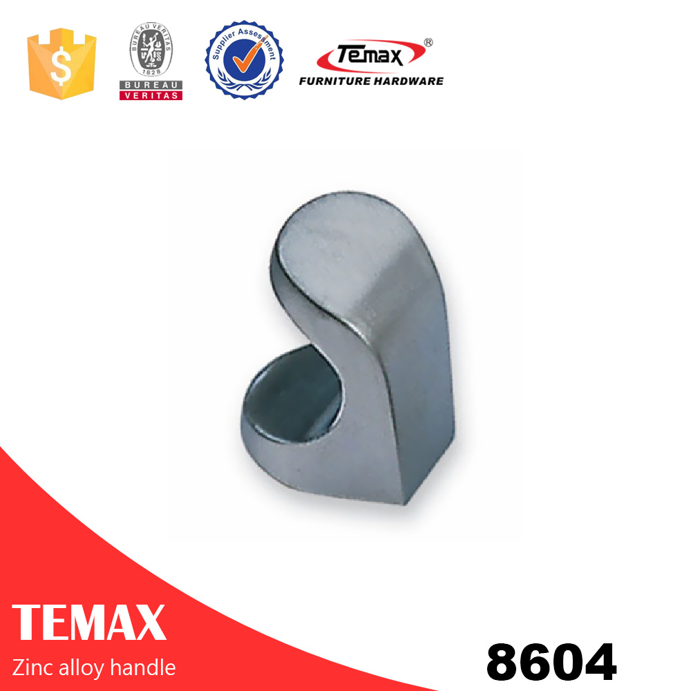 8604 Shanghai high quality zinc alloy single knob for cabinet Temax