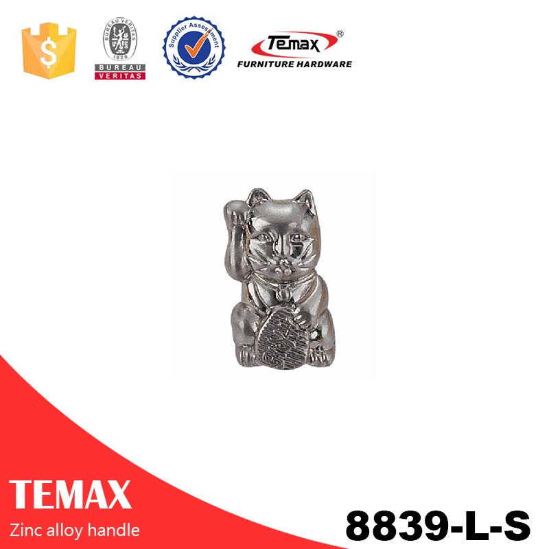 8839-L-S Temax high quality zinc alloy handle for cabinet