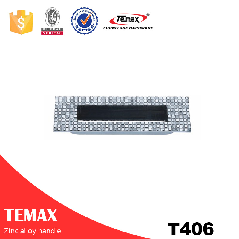 T406 modern zinc alloy handle for drawer from Shanghai