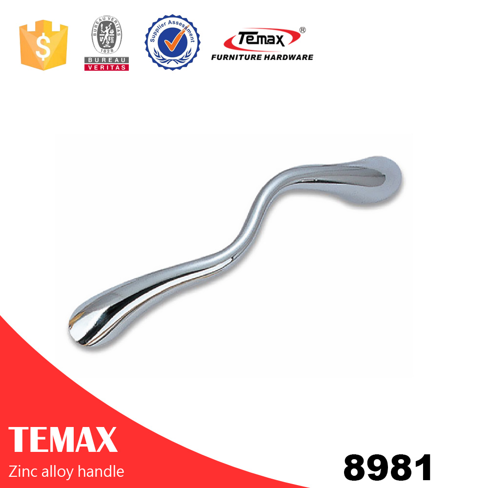 8981 hot sell solid zinc alloy furniture handle