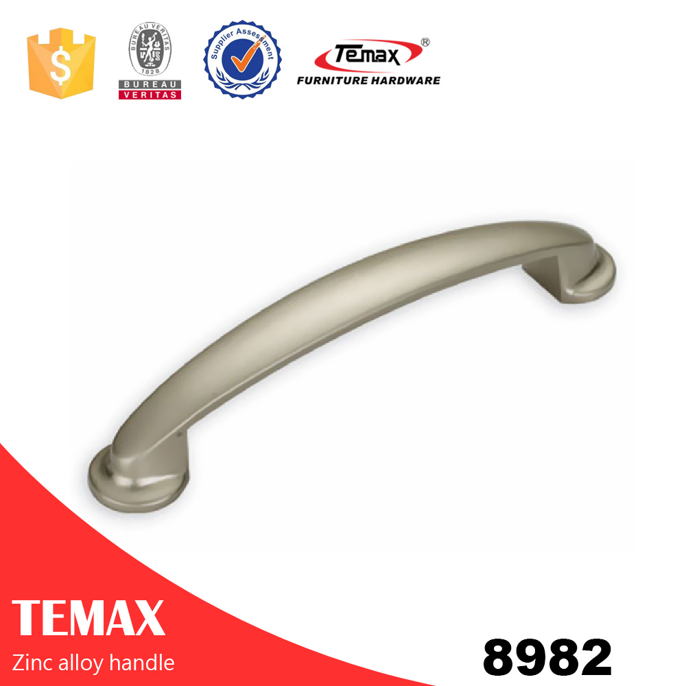 8982 fashionable solid zinc alloy furniture cabinet handle