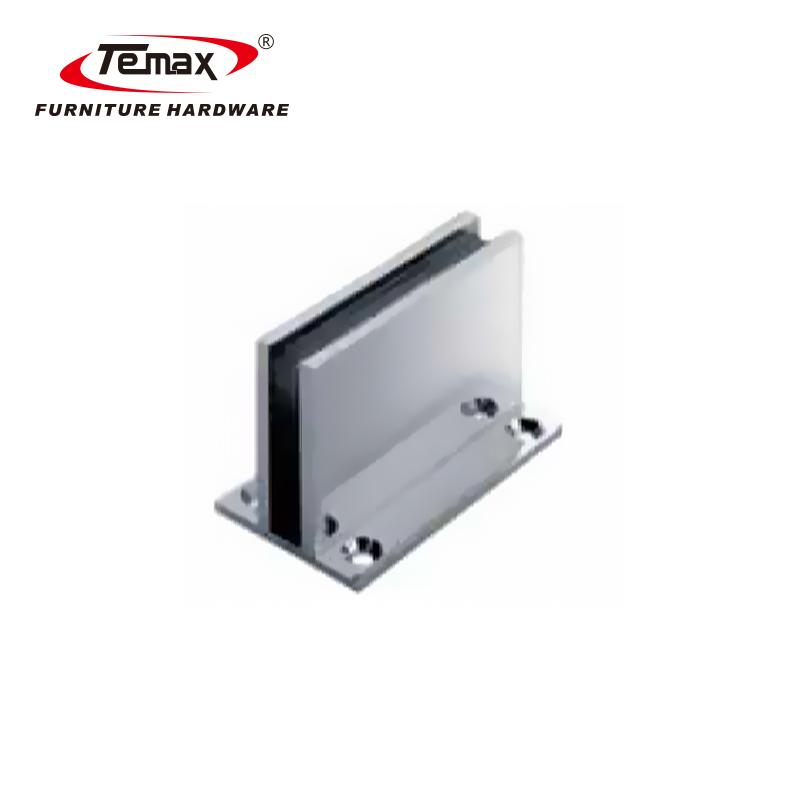 90 درجة الكروم الفولاذ المقاوم للصدأ الباب المفصلي زجاج الحمام