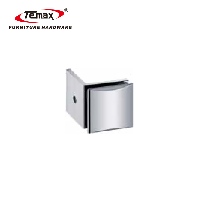 90 degree wall to glass door shower hinge and bathroom door hinge