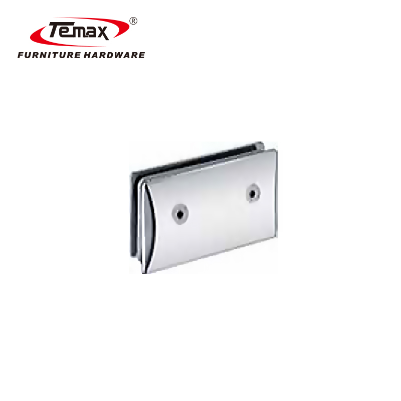 90 Degrees Convex Glass Clamp Hinge
