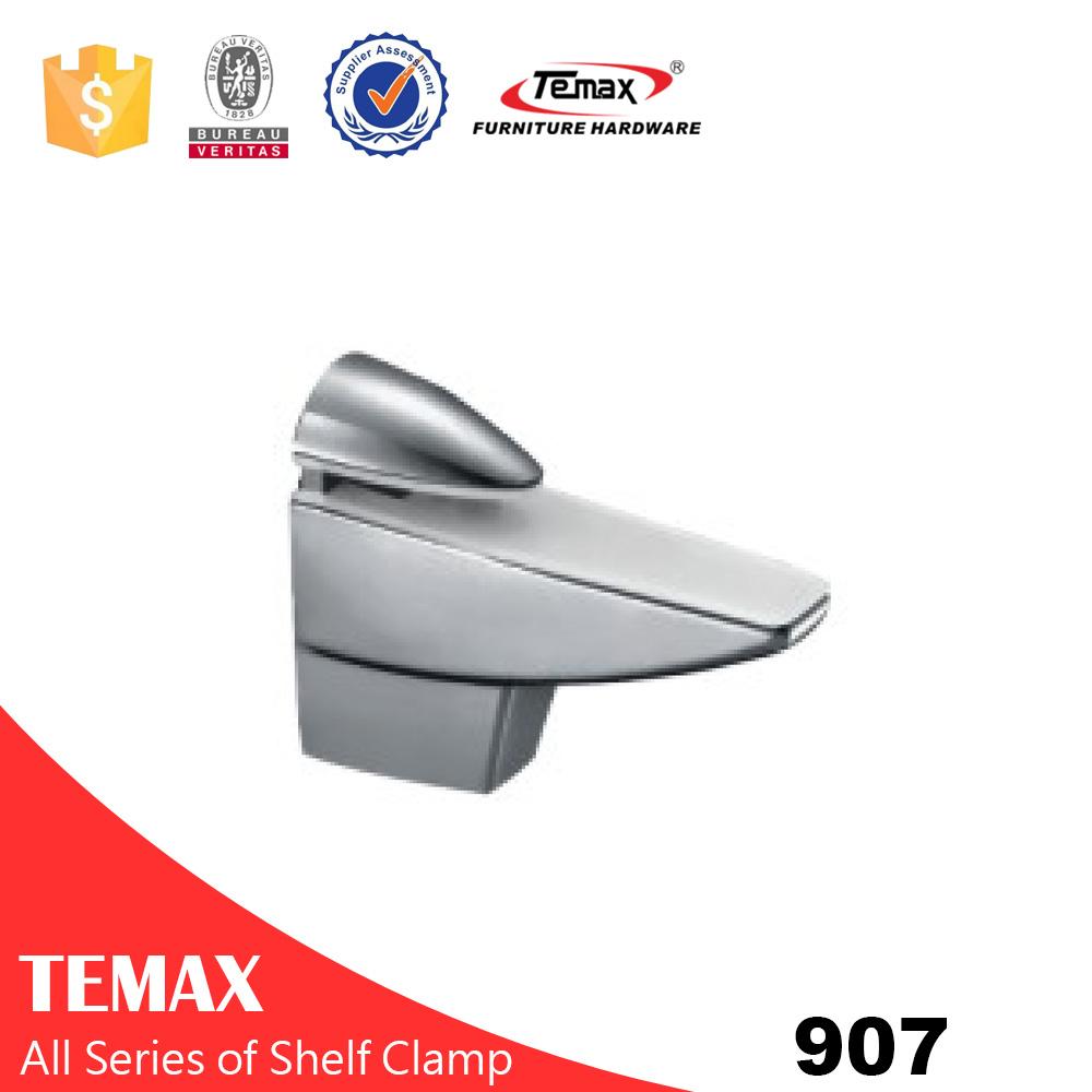 907 Chrome Glass Support Bracket
