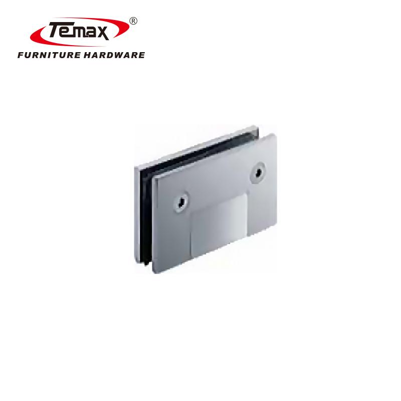 90 degree chrome durable glass shower door pivot hinge