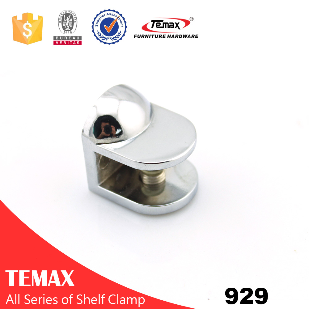 929 Adjustable Glass Shelf Clamp