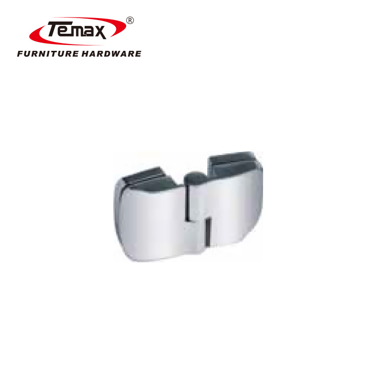 92MM Stainless steel shower room hinge glass clamp