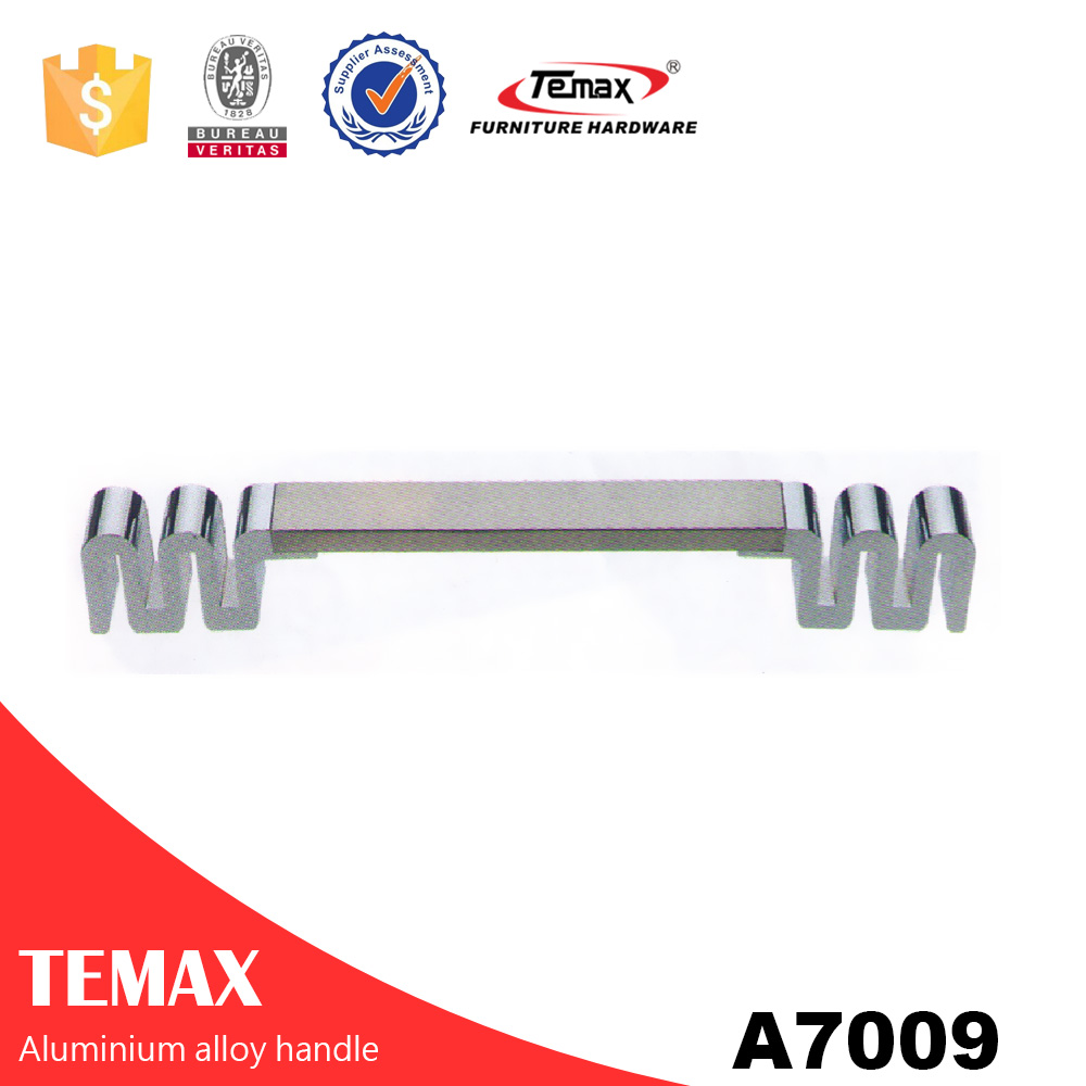 A7009 fashionable handle aluminum profile