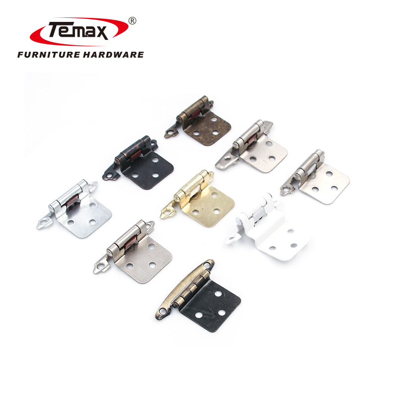 American style strong spring door folding  hinge and fittings for furniture