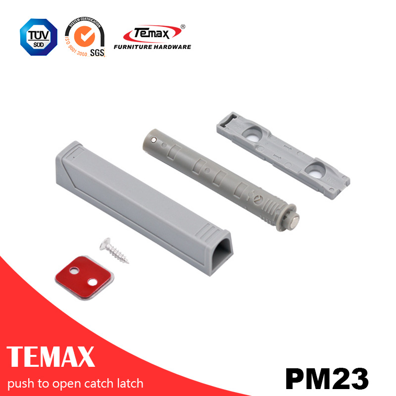 Temax type automatic spring push to open cabinet door catch latch