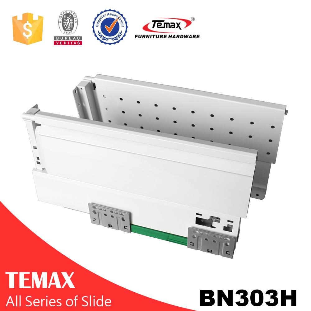 BN303H Мягкий закрыть инструмент Box ящик слайд