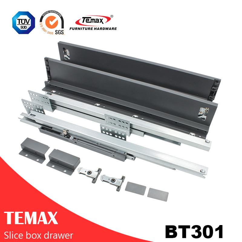 نظام BT301 أداة رقيقة صندوق Slimilar درج