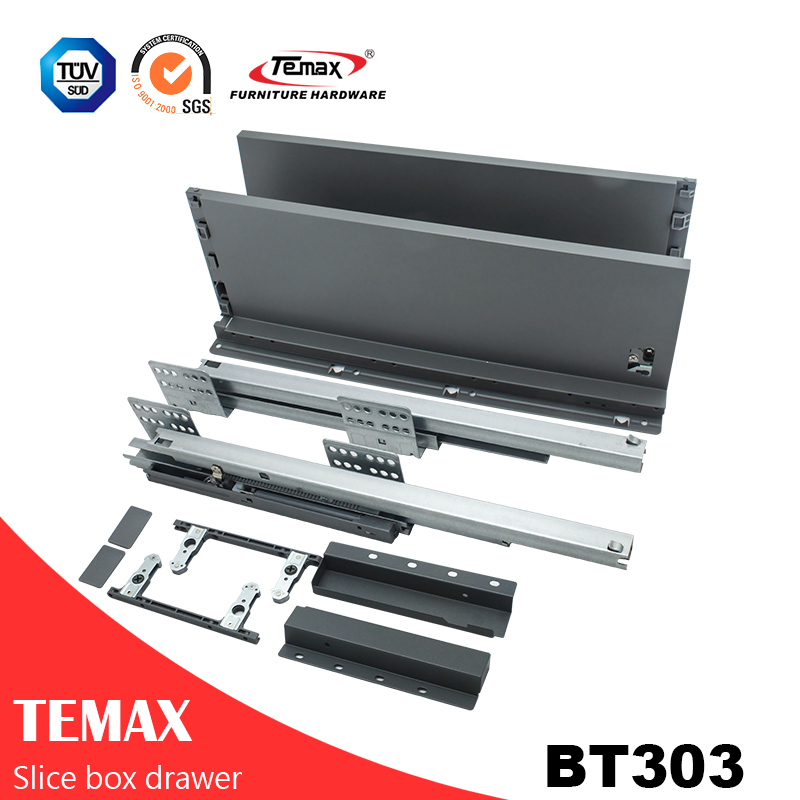 BT303 Similar Kitchen Drawer Metal Box Slice Type