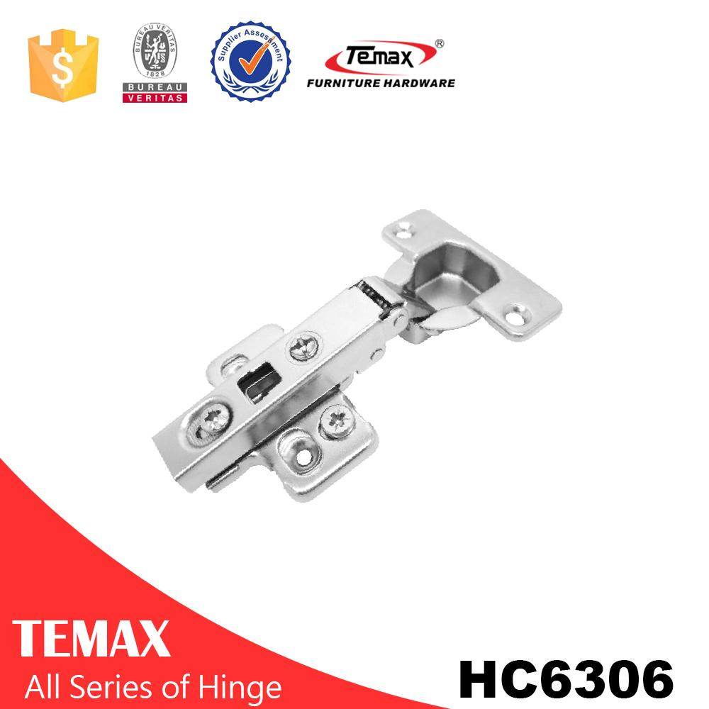 China full overlay 3D adjustable 316 stainless steel hinges