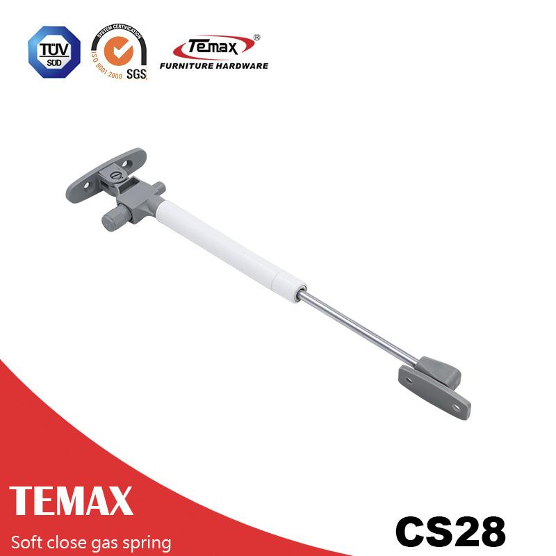 CS28 Mini hydraulic gas struts damper lift gas spring for kitchen cabinet
